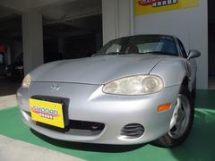 沖縄の中古車 マツダ ロードスター 車両価格 39万円 リ済込 平成15年 14.6万K シルバーM