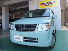 沖縄の中古車 三菱 eKワゴン 車両価格 54万円 リ済込 平成24年 6.9万K Lグリーン