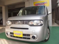 沖縄の中古車 日産 キューブ 車両価格 69万円 リ済込 平成26年 6.0万K シルバーM