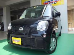 沖縄の中古車 日産 モコ 車両価格 74万円 リ済込 平成25年 7.6万K DブラックM