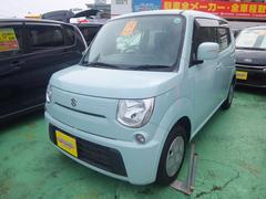 沖縄の中古車 スズキ MRワゴン 車両価格 76万円 リ済込 平成25年 5.7万K グリーン