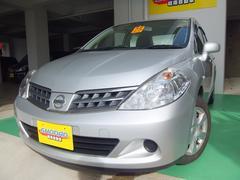 沖縄の中古車 日産 ティーダラティオ 車両価格 56万円 リ済込 平成25年 8.5万K シルバー