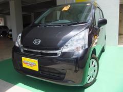 沖縄の中古車 ダイハツ ムーヴ 車両価格 66万円 リ済込 平成24年 7.4万K ブラックM