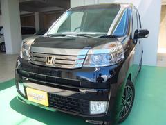 沖縄の中古車 ホンダ ライフ 車両価格 64万円 リ済込 平成23年 7.6万K ブラックM