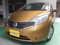 沖縄の中古車 日産 ノート 車両価格 68万円 リ済込 平成24年 7.4万K ゴールドM