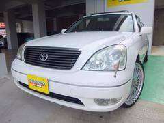 沖縄の中古車 トヨタ セルシオ 車両価格 41万円 リ済込 平成15年 14.3万K パール