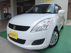 沖縄の中古車 スズキ スイフト 車両価格 66万円 リ済込 平成25年 7.7万K パールホワイト