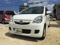 沖縄の中古車 ダイハツ ミラ 車両価格 30万円 リ済込 平成24年 9.9万K ホワイト