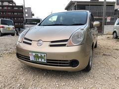 沖縄の中古車 日産 ノート 車両価格 21万円 リ済込 平成17年 12.8万K ゴールドM