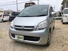 沖縄の中古車 ダイハツ ムーヴ 車両価格 26万円 リ済込 平成20年 14.4万K シルバーM
