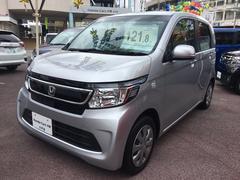 沖縄の中古車 ホンダ N−WGN 車両価格 121.8万円 リ済別 平成28年 0.6万K シルバー