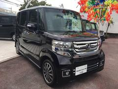 沖縄の中古車 ホンダ N BOXカスタム 車両価格 161.8万円 リ済別 平成28年 0.6万K パープル