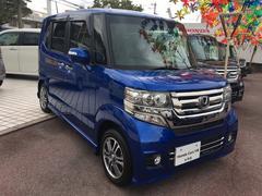 沖縄の中古車 ホンダ N BOXカスタム 車両価格 154.8万円 リ済別 平成28年 0.2万K ブルー