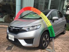 沖縄の中古車 ホンダ フィットハイブリッド 車両価格 168.8万円 リ済別 平成28年 0.8万K シルバー