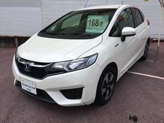 沖縄の中古車 ホンダ フィットハイブリッド 車両価格 168.8万円 リ済別 平成28年 1.0万K パール