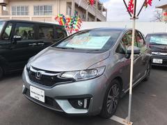 沖縄の中古車 ホンダ フィットハイブリッド 車両価格 174.8万円 リ済別 平成28年 0.5万K シルバー