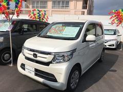 沖縄の中古車 ホンダ N−WGN 車両価格 123.8万円 リ済別 平成28年 0.6万K パールホワイト