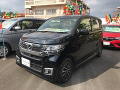 沖縄の中古車 ホンダ N−WGN 車両価格 132.8万円 リ済別 平成28年 0.6万K ブラック