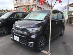 沖縄の中古車 ホンダ N−WGN 車両価格 132.8万円 リ済別 平成28年 0.7万K パープル