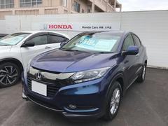 沖縄の中古車 ホンダ ヴェゼル 車両価格 232.8万円 リ済別 平成29年 0.8万K 紺M