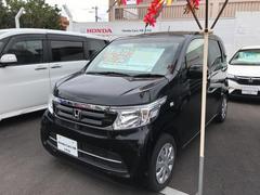 沖縄の中古車 ホンダ N−WGN 車両価格 121.8万円 リ済別 平成28年 0.6万K ブラック