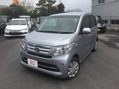 沖縄の中古車 ホンダ N−WGN 車両価格 120.8万円 リ済別 平成28年 0.9万K シルバーメタリック