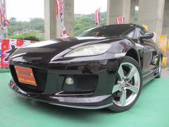 沖縄の中古車 マツダ RX−8 車両価格 59.9万円 リ済込 平成17年 9.0万K ラディアントエボニーマイカ