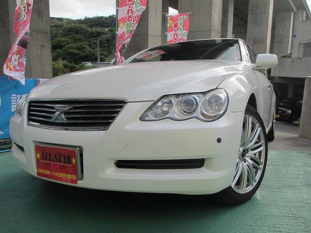 沖縄県の中古車 トヨタ マークXのオススメ