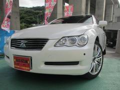 沖縄の中古車 トヨタ マークX 車両価格 63万円 リ済込 平成16年 6.2万K パールホワイト