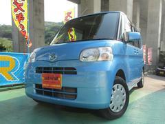 沖縄の中古車 ダイハツ タント 車両価格 47.8万円 リ済込 平成21年 7.3万K ブルーM
