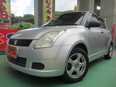 沖縄の中古車 スズキ スイフト 車両価格 27.8万円 リ済込 平成18年 10.8万K シルバー