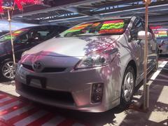 沖縄の中古車 トヨタ プリウス 車両価格 98万円 リ済込 平成22年 7.0万K シルバー
