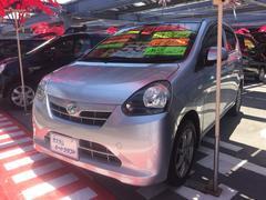 沖縄の中古車 ダイハツ ミライース 車両価格 58万円 リ済込 平成24年 7.0万K シルバー