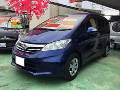 沖縄の中古車 ホンダ フリード 車両価格 104万円 リ済込 平成24年 6.8万K ブルー