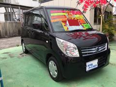 沖縄の中古車 スズキ パレット 車両価格 58万円 リ済込 平成22年 7.9万K ブラック