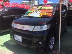 沖縄の中古車 スズキ ワゴンRスティングレー 車両価格 58万円 リ済込 平成21年 6.7万K ブラック