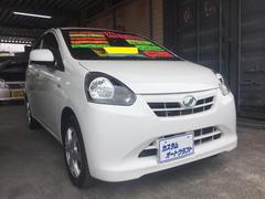 沖縄の中古車 ダイハツ ミライース 車両価格 48万円 リ済込 平成24年 7.5万K ホワイト