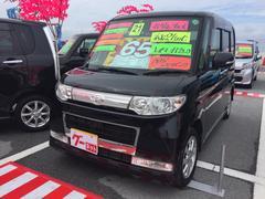 沖縄の中古車 ダイハツ タント 車両価格 64万円 リ済込 平成21年 7.2万K ブラック