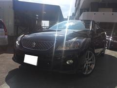 沖縄の中古車 トヨタ クラウン 車両価格 129万円 リ済込 平成20年 10.7万K ブラック