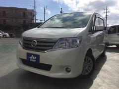 沖縄の中古車 日産 セレナ 車両価格 109万円 リ済込 平成24年 9.0万K パール