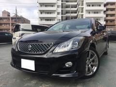 沖縄の中古車 トヨタ クラウン 車両価格 139万円 リ済込 平成21年 10.4万K ブラック