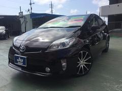 沖縄の中古車 トヨタ プリウス 車両価格 119万円 リ済込 平成25年 7.4万K パープル