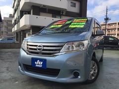 沖縄の中古車 日産 セレナ 車両価格 98万円 リ済込 平成24年 9.6万K ライトブルー