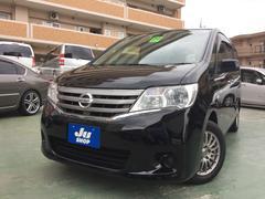 沖縄の中古車 日産 セレナ 車両価格 119万円 リ済込 平成24年 6.8万K ブラック