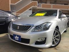 沖縄の中古車 トヨタ クラウン 車両価格 119万円 リ済込 平成21年 9.1万K シルバー