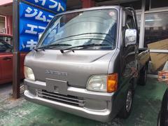沖縄の中古車 スバル サンバートラック 車両価格 25万円 リ済込 平成12年 9.7万K シルバー
