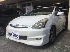 沖縄の中古車 トヨタ ウィッシュ 車両価格 33万円 リ済込 平成18年 13.2万K ホワイト