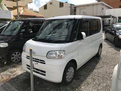 沖縄の中古車 ダイハツ タント 車両価格 27万円 リ済別 平成20年 16.0万K ホワイト