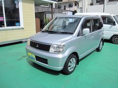 沖縄の中古車 三菱 eKワゴン 車両価格 12万円 リ済込 平成14年 13.9万K シルバーM