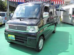 沖縄の中古車 三菱 タウンボックス 車両価格 39万円 リ済込 平成18年 10.6万K ブラックM